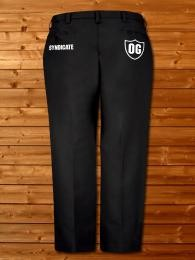 Logo work pants