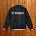 SYNDICATE Paisley logo Stadium jacket